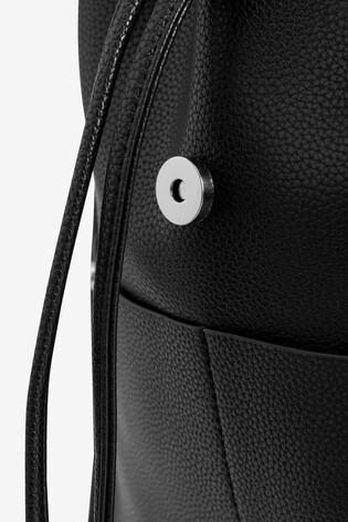 Black Smart Casual Rucksack