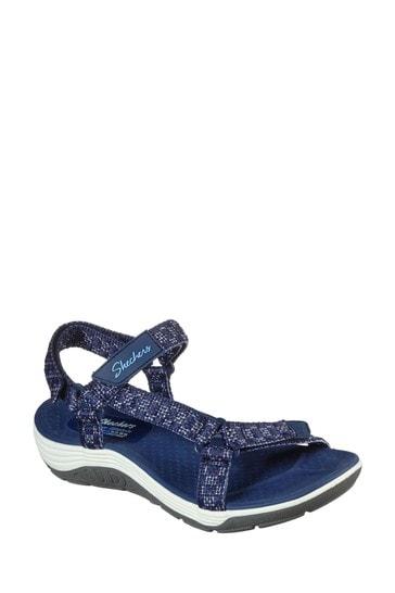 Skechers® Blue Reggae Cup Sandals