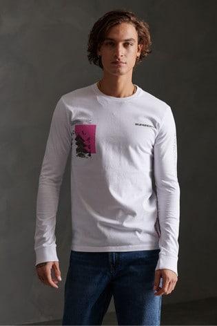 Superdry Japan Code Long Sleeved T-Shirt