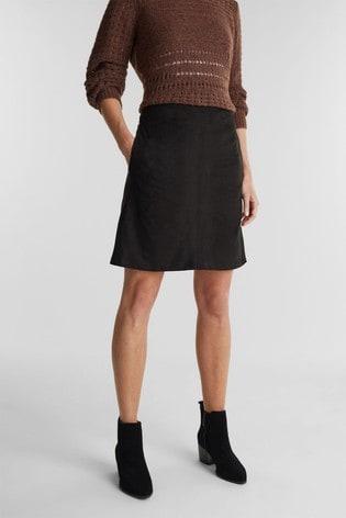Esprit Black Woven Mini Skirt