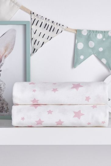 Safe Nights Star Cot Fitted Sheet by Silentnight