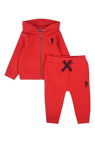 U.S. Polo Assn. Sweat Hoodie and Jogger Set