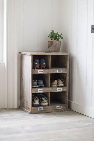 Shoe Locker 6 Cubby by Garden Trading