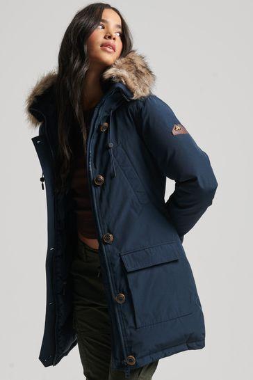 Superdry Rookie Down Parka Coat
