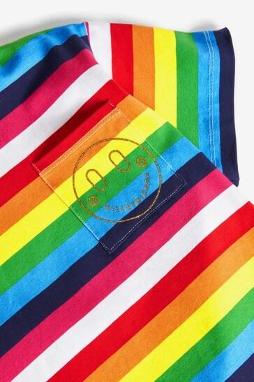 Hill & Friends x Label Stripe T-Shirt