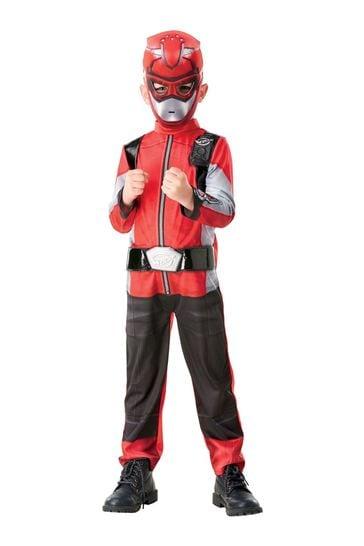 Rubies Red Power Ranger Beast Morpher Deluxe Costume