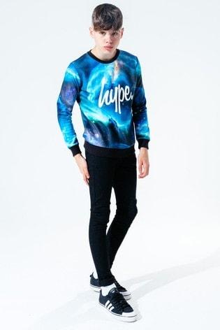 Hype. Kids Multi Galactic Boom Crew Neck Sweater