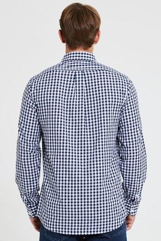 U.S. Polo Assn. Blue Gingham Shirt