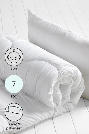 Junior 7 Tog Duvet And Pillow Set