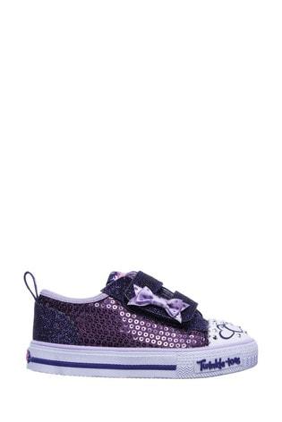 Skechers® Purple Shuffles Itsy Bitsy Trainers