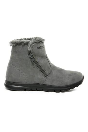 Regatta Grey Verena Zip Boots