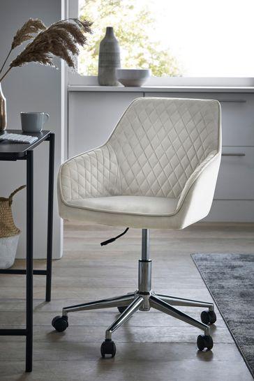 Hamilton Arm Office Chair With Chrome Base