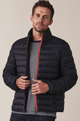 Crew Clothing Company Blue Lightweight Lowther Jacket