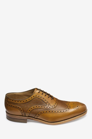 Loake For Next Textured Brogues