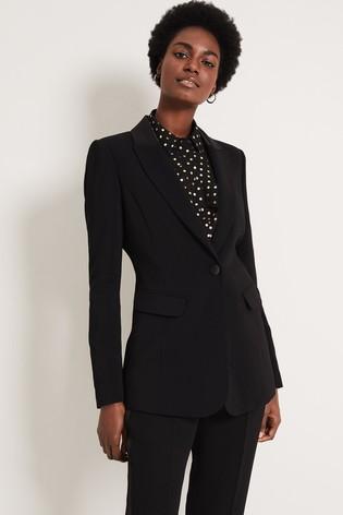 Damsel In A Dress Black Elise Tux Jacket
