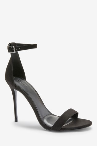 Black Emma Willis Barely There Sandals
