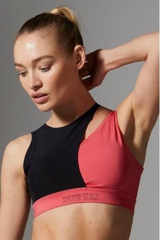Calvin Klein Pink Medium Support Sports Bra