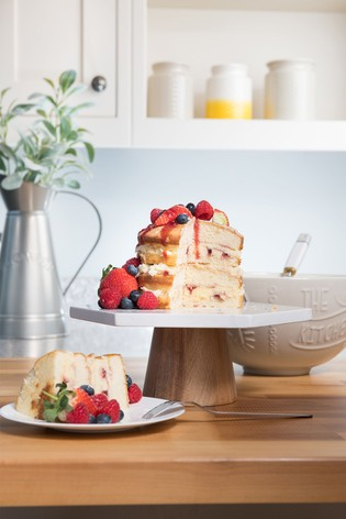 Kitchen Pantry Marble Cake Stand