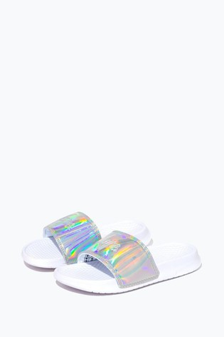 Hype. Holographic Script Kids Sliders