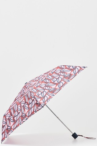 White Stuff Plum Recycled Material Umbrella
