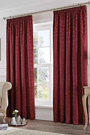 """Bouquet Pink Floral Flowers Lined Curtains Pair 3/"""" Tape Pencil Pleat 90/"""" x 90/"""""""
