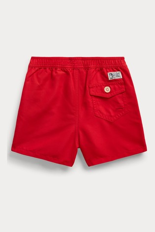 Ralph Lauren Red Swim Shorts