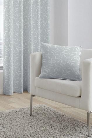 Serene Silver Alexa Jacquard Cushion
