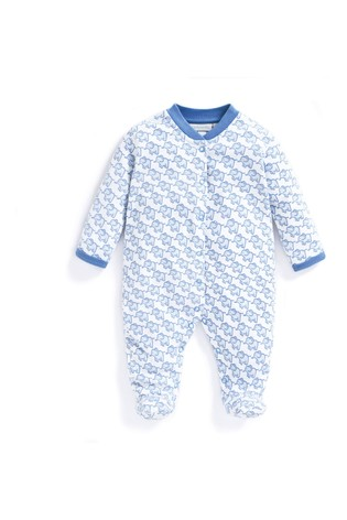 JoJo Maman Bebe Baby Girls Elephant Short Skinny Fit PJs