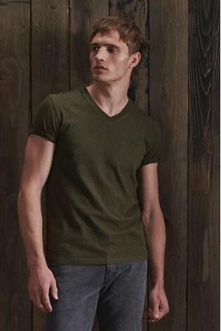 Superdry Orange Label Classic V-Neck T-Shirt