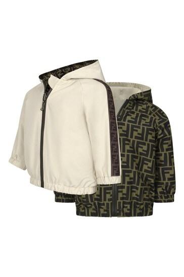 Baby Beige Reversible Jacket