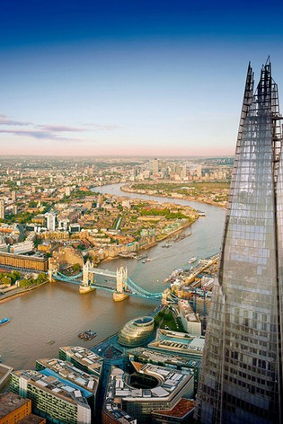 View From The Shard A Marco Pierre White Three Course Meal Gift Experience by Virgin Gift Experiences