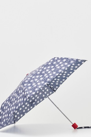 White Stuff Blue Recycled Material Umbrella