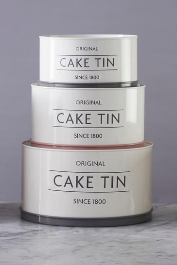 Set of 3 Mason Cash Innovative Cake Tins