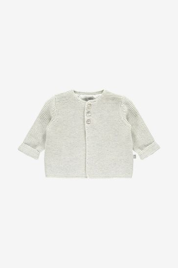 The Little Tailor Grey Soft Cotton Cardigan