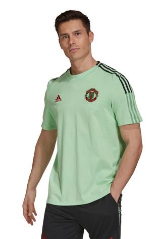 adidas Mint Manchester United T-Shirt