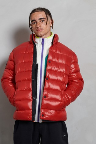 Superdry High Shine Quilted Padded Jacket