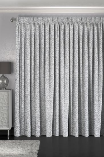 Tamsin Silver Made To Measure Curtains