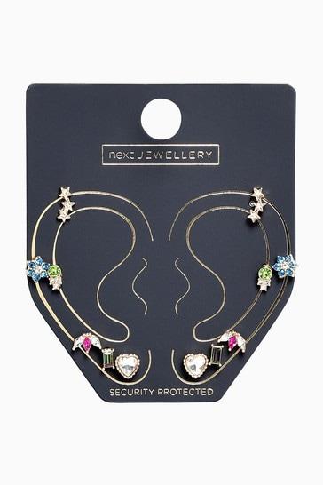 Multi Stud Earrings 6 Pack