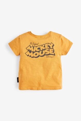 Orange Mickey Mouse™ T-Shirt (3mths-7yrs)