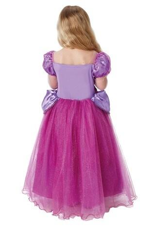 Rubies Purple Rapunzel Premium Fancy Dress Costume