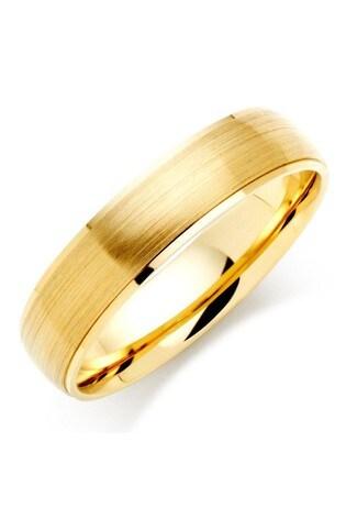 Beaverbrooks Mens 9ct Gold Wedding Ring