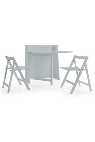 Helsinki Dining Set in Grey By Julian Bowen
