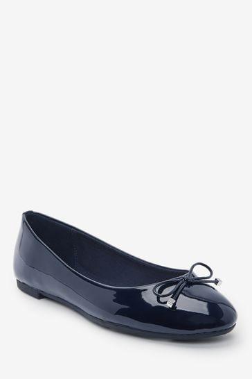 Navy Regular/Wide Fit Forever Comfort® Ballerina Shoes