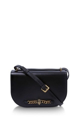 Kurt Geiger London Black Chelsea Saddle Bag
