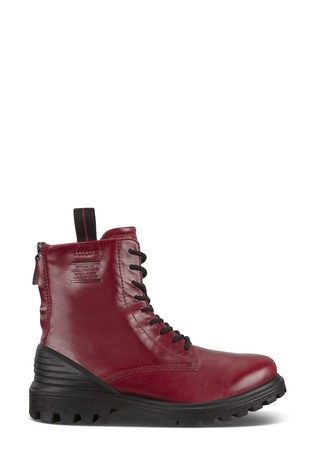 ECCO® Tredtray Chunky Lace/Zip Ankle Boots