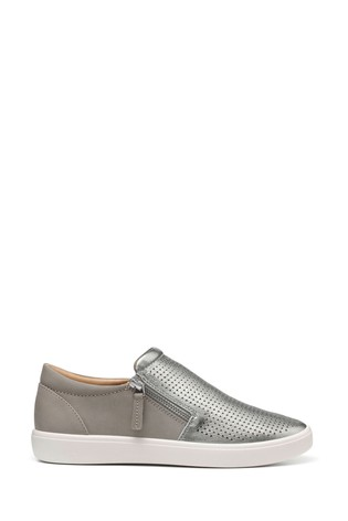 Hotter Daisy Slim Fit Slip-On/Zip Deck Shoes