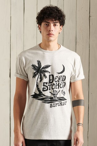 Superdry Organic Cotton Cali Surf Relaxed Fit T-Shirt