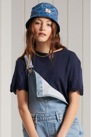 Superdry Embroidered Sleeve T-Shirt