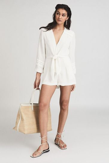 Reiss Rose Wide Sleeve Playsuit