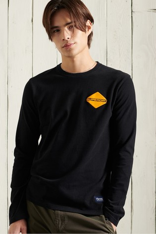 Superdry Heritage Mountain Long Sleeved Top